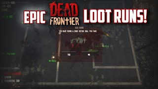 Dead Frontier: Secronom Bunker/White Zone Epic Loot runs (2015)!! Episodio #1