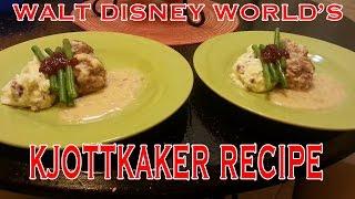 Walt Disney Worlds' Kjottkaker (norwegian Meatballs) Recipe