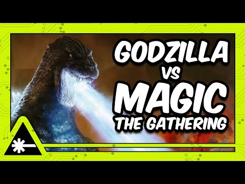 GODZILLA is crossing over with MAGIC: THE GATHERING?! (Nerdist News w/ Dan Casey)
