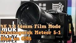 Panasonic GH5 & Krasnogorsk Meteor 5-1 17-69mm 4K 4:3 16mm Film Mode