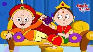 Ek Tha Raja Ek Thi Rani   Pyasa Kauwa & More Best Hindi Songs By JingleToons