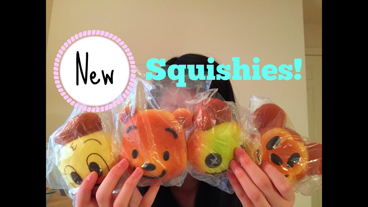 Squishy Haul From Thailand : New Squishies! Doovi