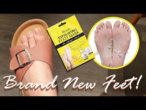 Megan Exfoliating Foot Mask Review PHP 99 LANG!