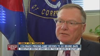 New Colorado prison chief spends a day in solitary confinement