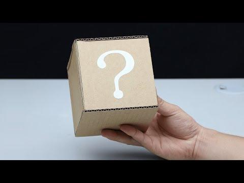 How to Make Secret Safe Box from Cardboard