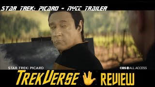 Star Trek: Picard | NYCC Trailer | TrekVerse Review