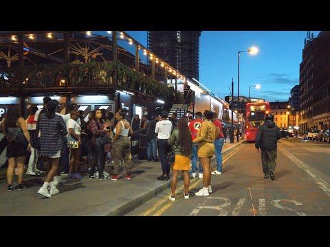 FRIDAY NIGHT WALK From CITY OF LONDON To SPITALFIELDS - Post-Lockdown 2020