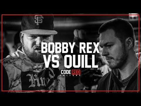 Code Red | BOBBY REX VS QUILL | Rap Battle