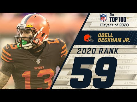#59: Odell Beckham Jr. (WR, Browns) | Top 100 NFL Players of 2020