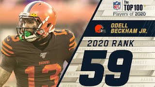 #59: Odell Beckham Jr. (wr, Browns) | Top 100 Nfl Players Of 2020