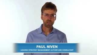 Paul Niven Discusses Balanced Scorecard Software