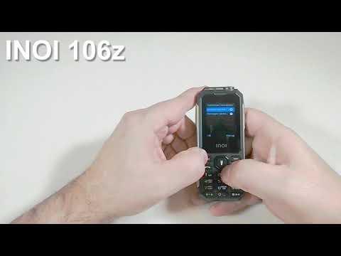 INOI 106z Incoming Call And Ringtones. Входящий звонок и Встроенные Мелодии Звонка и Сообщений.
