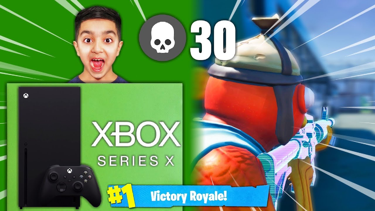 I Will Buy My Little Brother The New Xbox Series X If He Gets A Victory Royale In Fortnite Youtube
