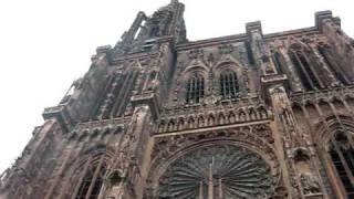 Нотр дам де Страсбург(Звон колоколов Страсбургского собора., 2009-10-21T10:40:39.000Z)