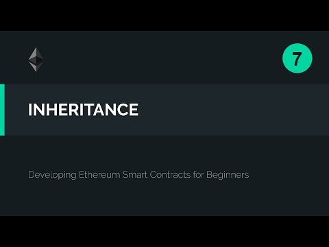 07. Solidity Inheritance Tutorial & Deploying the Contract