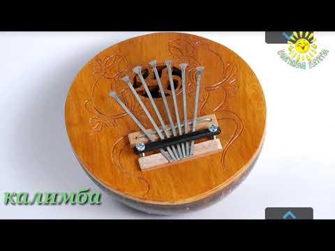 Музыкальные инструменты  Старшая, подготовительная гр  Обучающее видео для детей  Счастливое детство