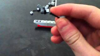 How to make a Lego battleship