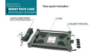 MOBILIS - Installation RESIST PACK with Velcro® fasteners