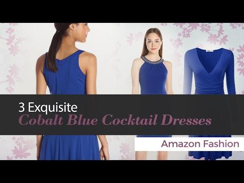 3 Exquisite Cobalt Blue Cocktail Dresses Amazon Fashion