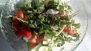 Салат с рукколой.