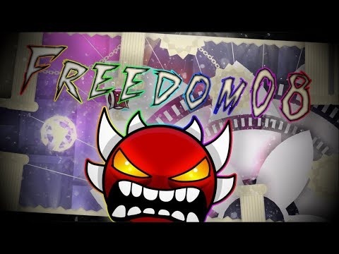 Geometry Dash | Freedom08 (Extreme Demon) by Pennutoh & More