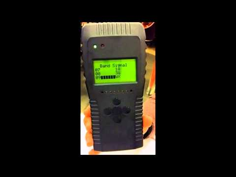 Wideband RF 4G LTE 3G GSM Cell Phone Bug Detector Demo RFD-10