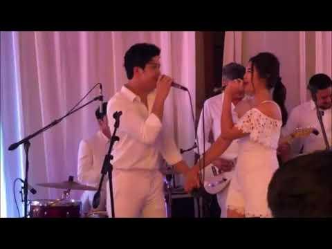 ElNella performs 'Cold Summer Nights' at Maxene Magalona's Wedding