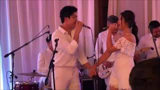 ElNella performs 'Cold Summer Nights' at Maxene Magalona's Wedding