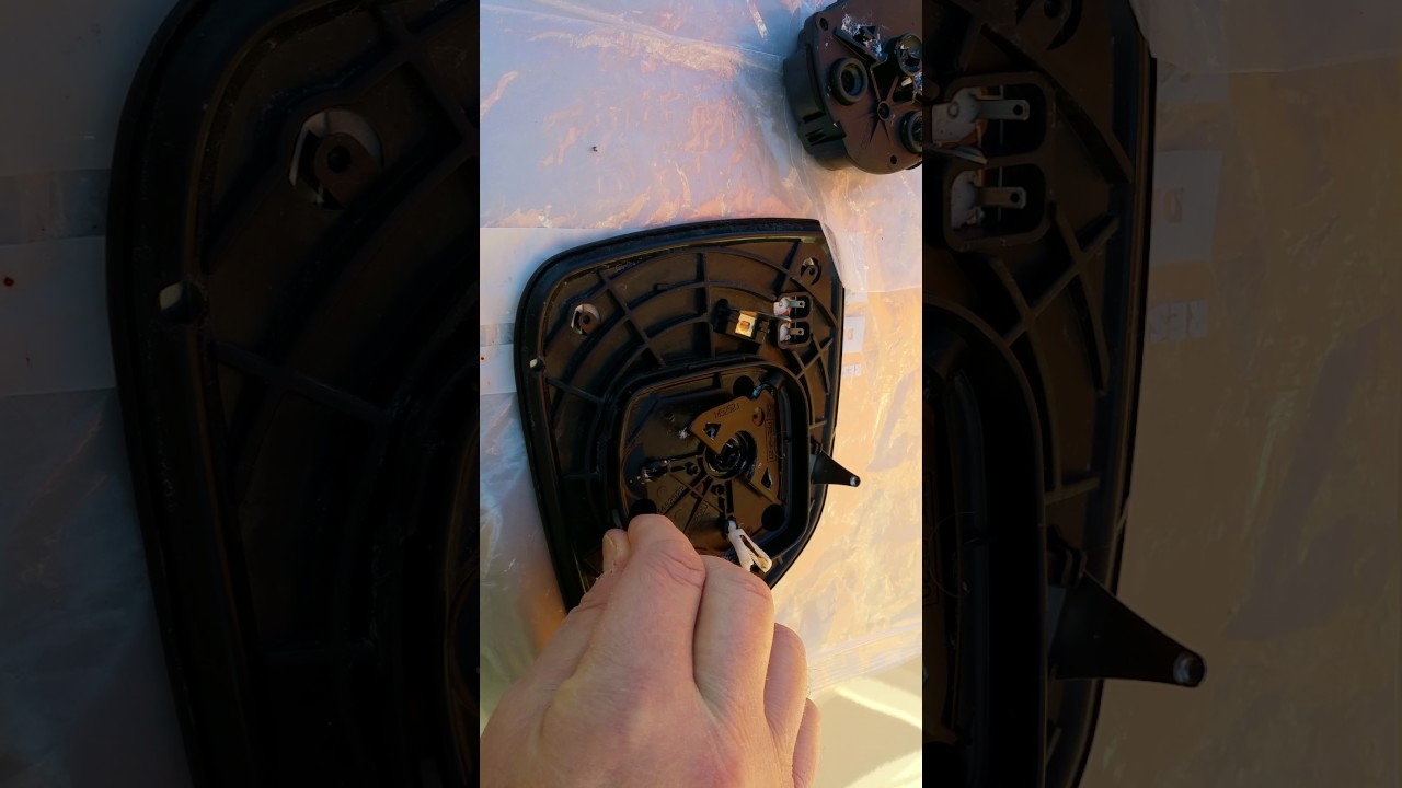 How To Remove Door Mirror And Led Indicator Chevrolet