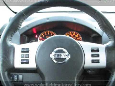 2012 Nissan Pathfinder Used Cars Boston MA