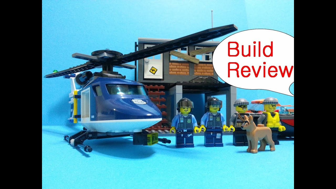 Lego City Helicopter Arrest Build