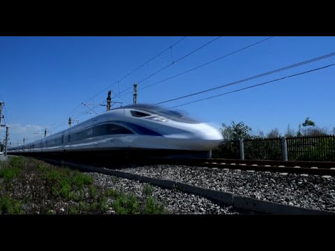 China's Self-developed High Speed Train Undergoing 600,000 km Test