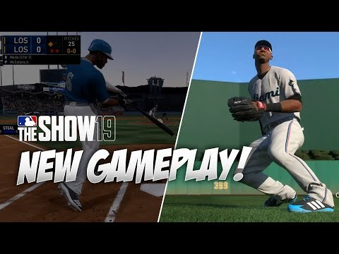 First Look at Gameplay in MLB The Show 19
