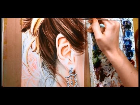 how-to-paint-hair-and-ears---watercolor-portrait-tutorial
