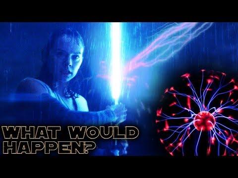 The Shocking Truth of Lightsabers vs Lightning | Physics vs Film