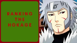 Ranking the Hokage from weakest to strongest