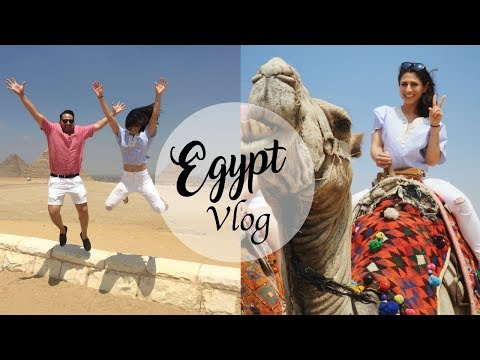 EGYPT TRAVEL VLOG | Pyramids, Spyhnx, Camels, Egyptian Wedding