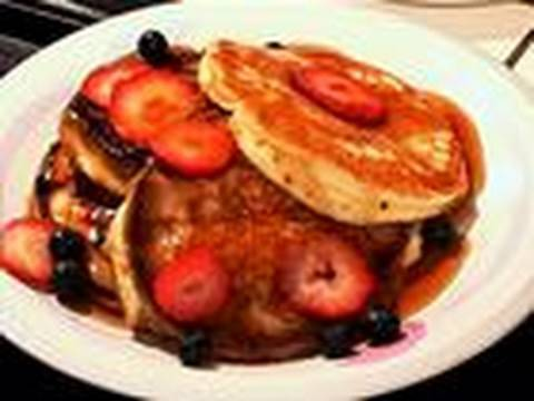 How to make american pancakes youtube ccuart Image collections