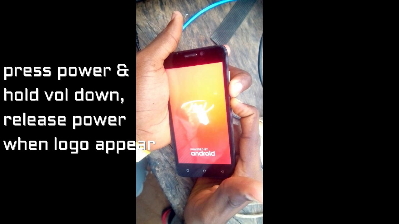 How to Hard reset Itel A12