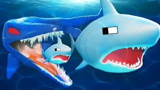 Shark-EATER l ROBLOX SHARK BITE