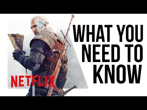 They're making a Witcher TV SERIES for NETFLIX!?