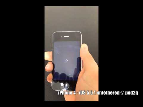 iPhone 4 iOS 5.0.1 untethered © pod2g