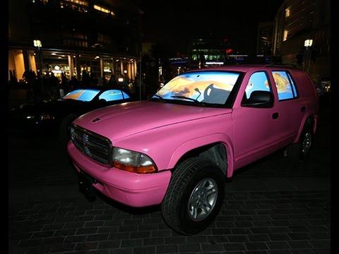 Aquarium Car at Dubai Festival of Lights