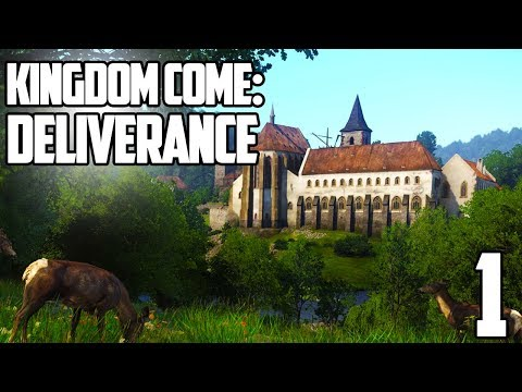 THE FIRST HOUR HERE WE GO! | Kingdom Come: Deliverance Gameplay Let's Play #1