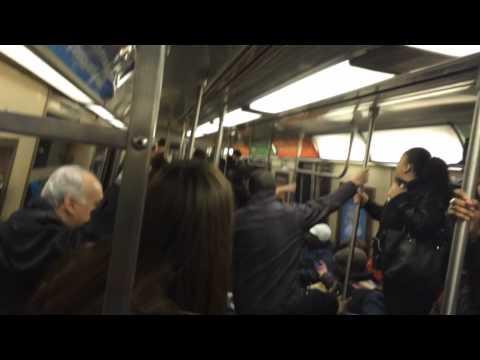 RAT On The New York Subway!