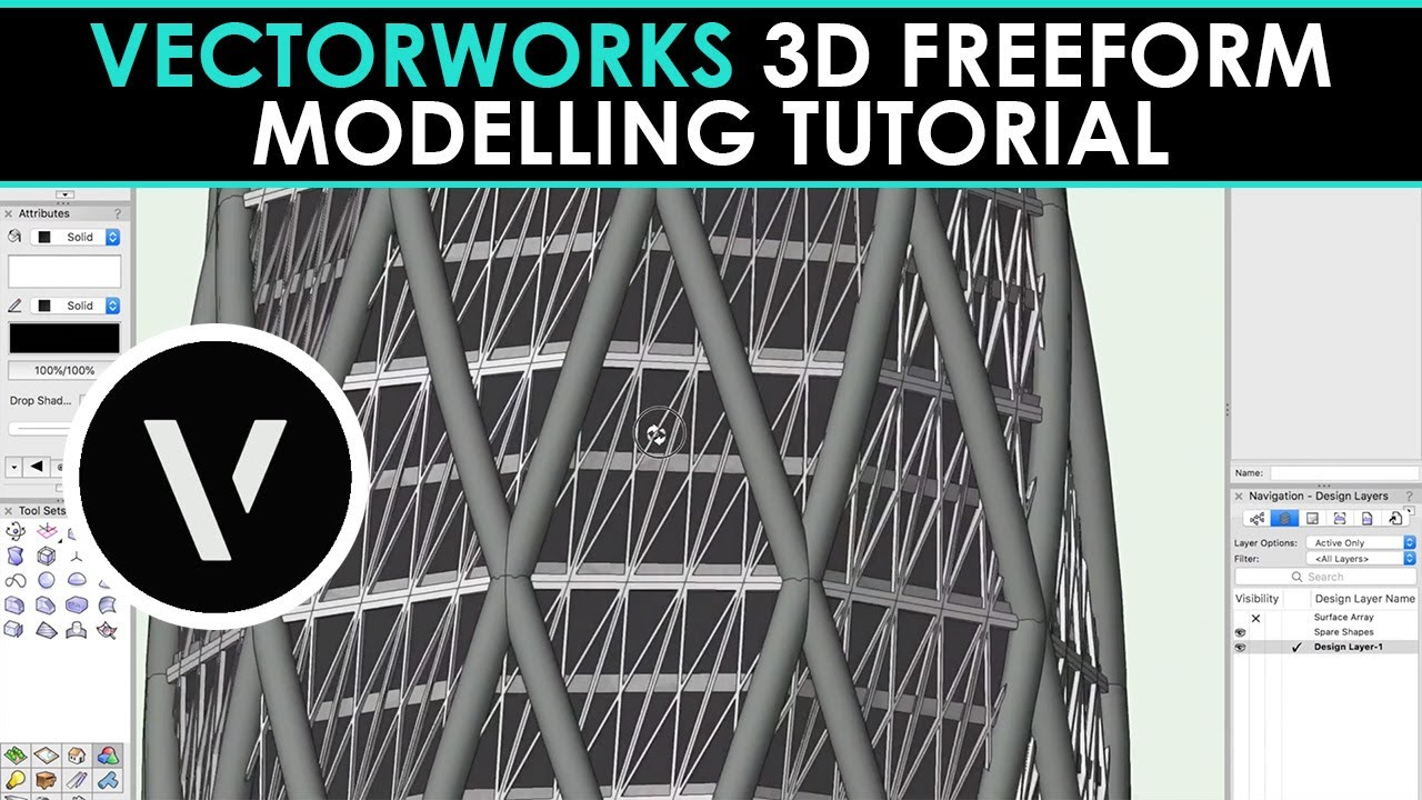 Vectorworks spotlight extrude a drawing in 3d youtube.
