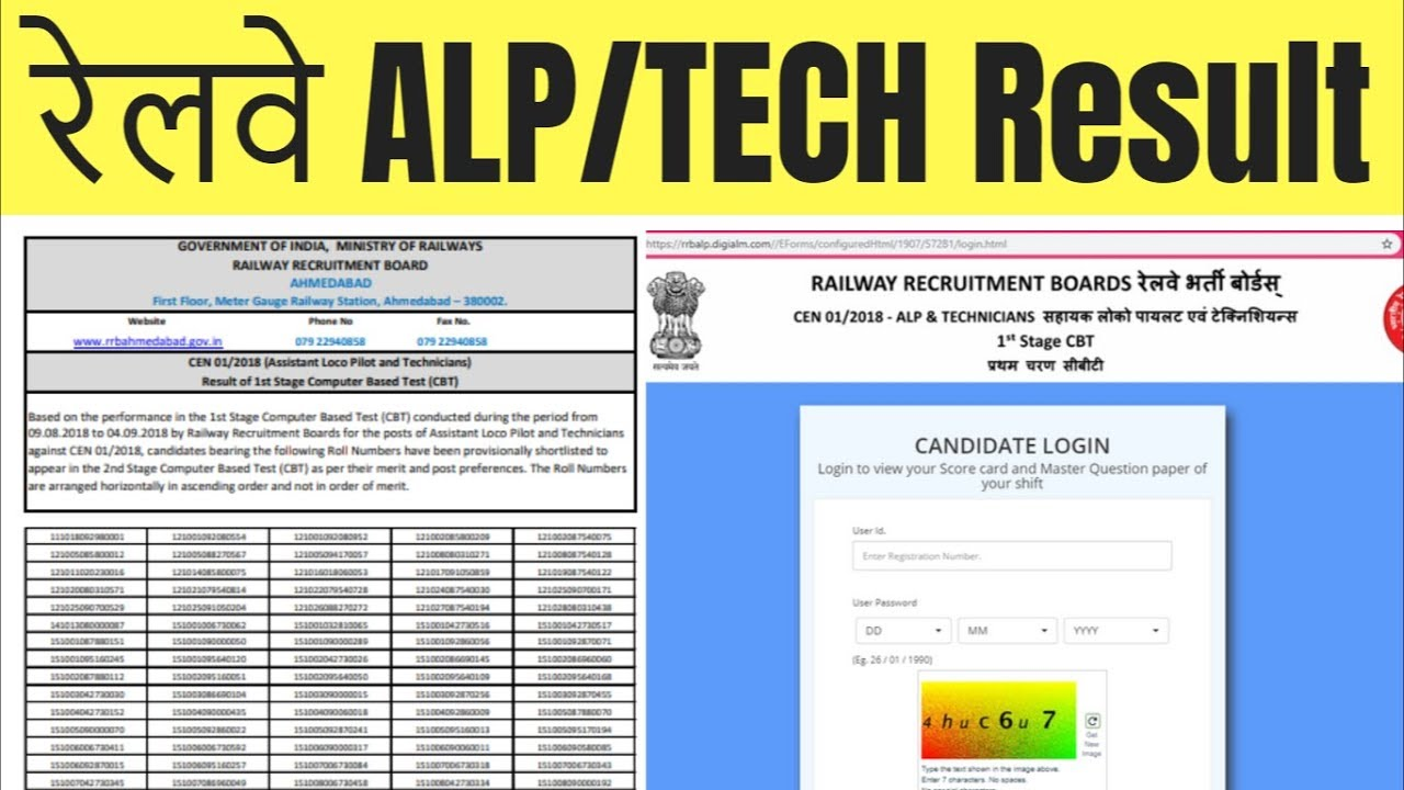 RRB ALP Result Download Now - ALL IN ONE OP