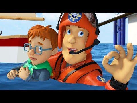 Sam le Pompier en francais | Sam le Pompier et Super Nicolas -  1 Heure | Dessin animé