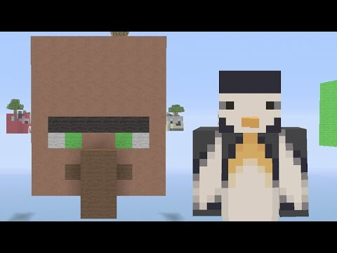 Minecraft Xbox - Sky Wars - Mob Heads (Built by SB737)