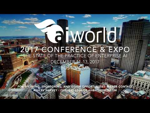 AI World Conference and Expo 2017